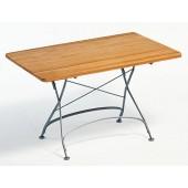 Weishäupl Tisch Classic - 120 x 80 cm, mattsilber