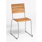 Weißhäupl Stuhl Balcony - Edelstahl / Teak