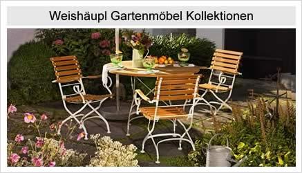 Weishäupl Gartenmöbel Kollektionen