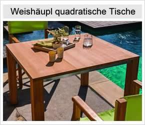 Weishäupl quadratische Tische