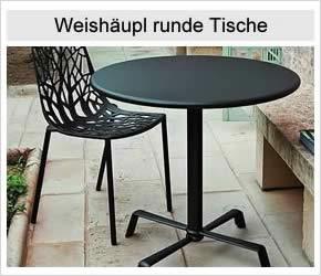 Weishäupl runde Tische